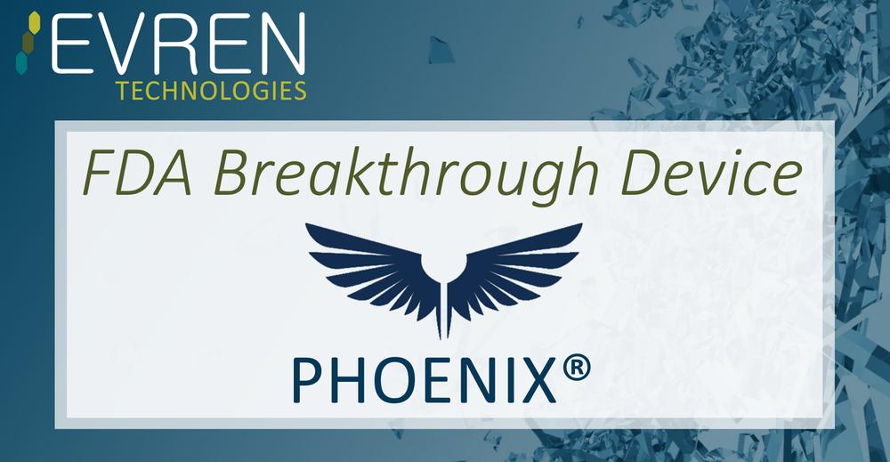 Evren graphic with phoenix logo.